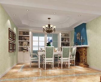 富裕型120平米三室三厅地中海风格餐厅设计图