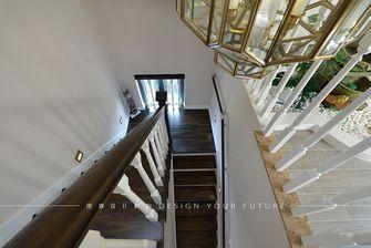 富裕型140平米复式美式风格楼梯图