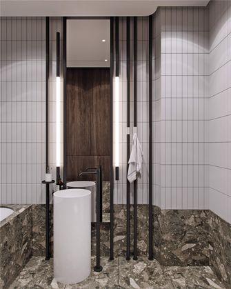 140平米三室两厅混搭风格卫生间图