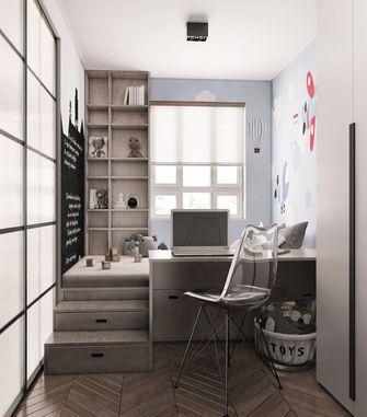 70平米三现代简约风格书房装修案例
