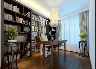 豪华型140平米三室四厅中式风格书房图片