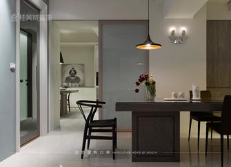 富裕型110平米三室五厅现代简约风格餐厅图片大全