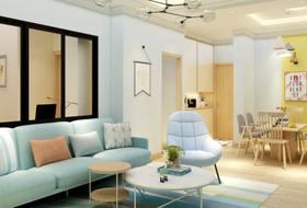 130平米三北歐風格客廳設計圖