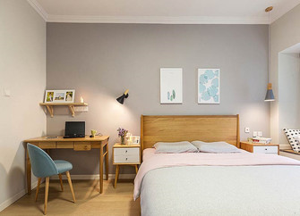 120平米一室两厅北欧风格卧室效果图