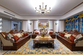 豪华型140平米三室两厅新古典风格客厅效果图