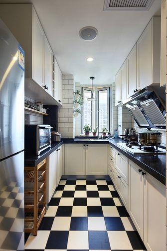 90平米混搭风格厨房图