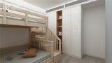 110平米三室两厅现代简约风格儿童房图片