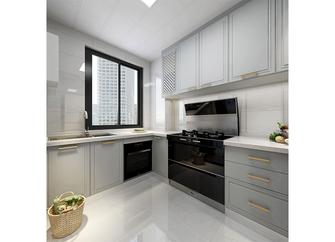 120平米法式风格厨房装修案例