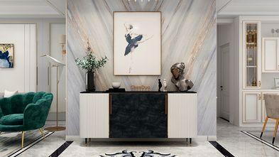 130平米三室一厅新古典风格玄关图