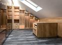 140平米四室两厅中式风格阁楼装修效果图