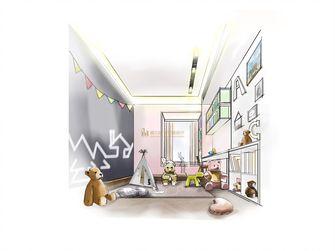 140平米复式北欧风格儿童房图片大全