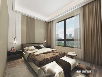 140平米四室六厅现代简约风格卧室效果图