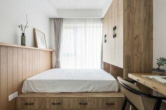 120平米三室两厅北欧风格卧室飘窗图片大全