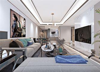 120平米三室两厅现代简约风格阳台装修效果图