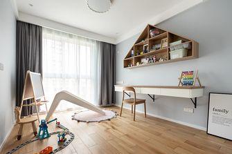 140平米四室一厅北欧风格书房欣赏图
