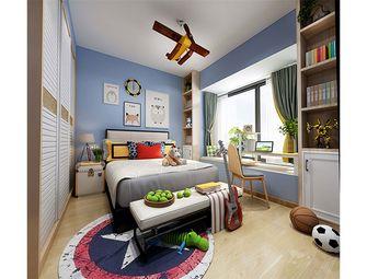 140平米三室一厅中式风格儿童房图片