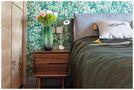 140平米三室一厅混搭风格卧室设计图
