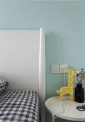 80平米三室两厅宜家风格儿童房图片大全