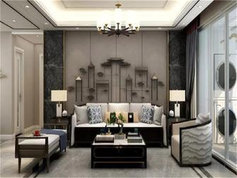 110平米新古典风格客厅设计图