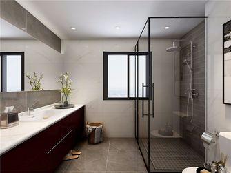 140平米三室两厅现代简约风格卫生间图片大全