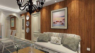 50平米地中海风格客厅装修图片大全
