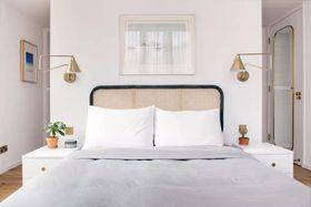 110平米混搭风格卧室装修案例