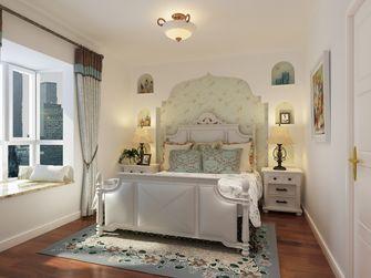 110平米三室一厅地中海风格卧室效果图
