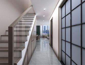 110平米一居室现代简约风格楼梯间装修案例
