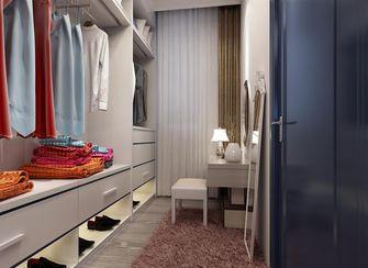 豪华型120平米三室两厅田园风格衣帽间鞋柜图片