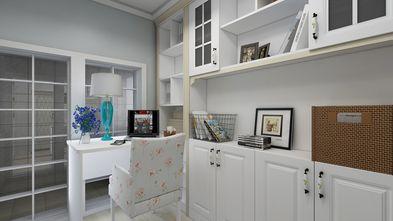 120平米三室两厅欧式风格书房装修效果图