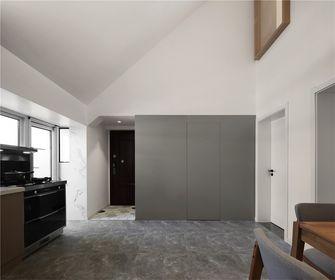 富裕型90平米三室一厅日式风格玄关欣赏图