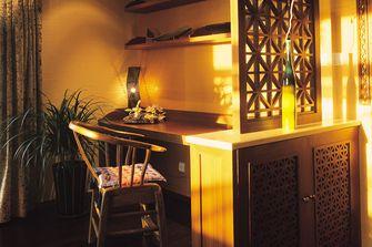 100平米三室两厅东南亚风格书房图片