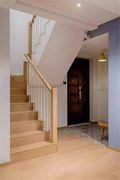130平米复式北欧风格楼梯间图
