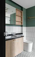 120平米三室两厅北欧风格卫生间装修效果图