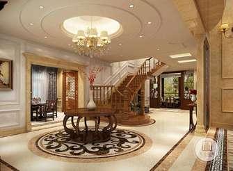 140平米四室两厅欧式风格楼梯间图片大全