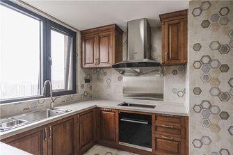 140平米三美式风格厨房设计图