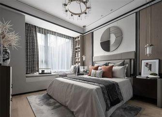 140平米三室三厅中式风格卧室图片大全