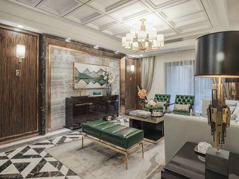 130平米四室一厅新古典风格客厅图片大全