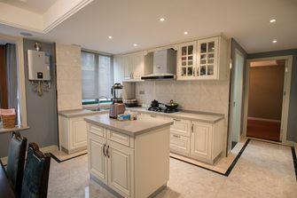 140平米三室两厅美式风格厨房欣赏图