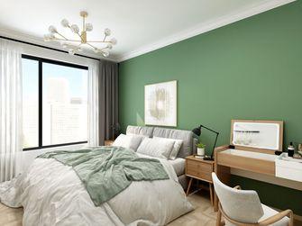 100平米四室一厅日式风格卧室设计图