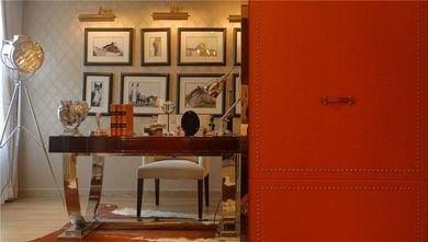 140平米四室五厅新古典风格书房图片