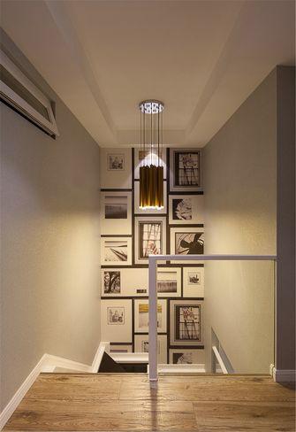 15-20万140平米三室一厅混搭风格楼梯图片大全