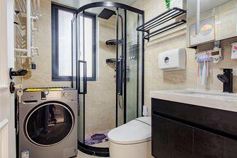 70平米三室一厅混搭风格卫生间设计图