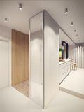 40平米小户型北欧风格玄关设计图
