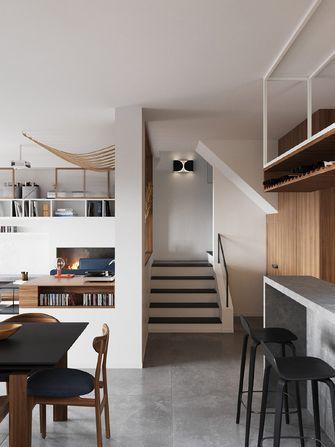 110平米复式混搭风格楼梯间效果图