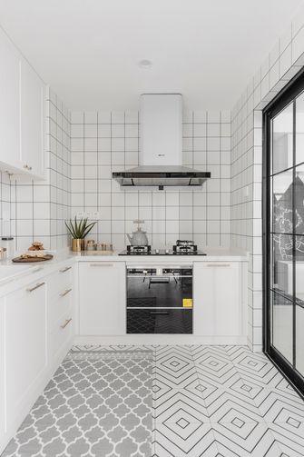 120平米三室两厅混搭风格厨房图片大全