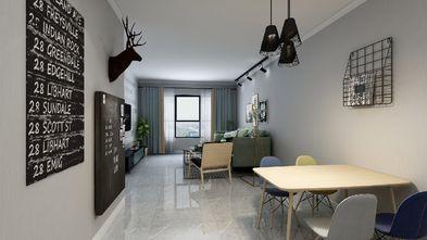 100平米三室三厅北欧风格餐厅装修图片大全
