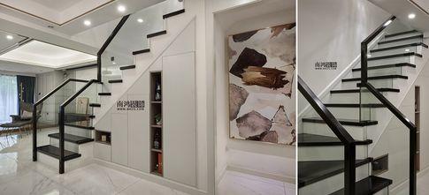 140平米三室两厅其他风格楼梯间设计图