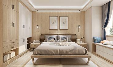110平米三室五厅中式风格卧室设计图