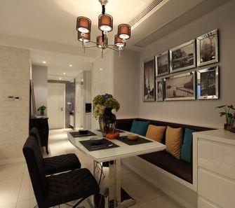 5-10万110平米三室两厅现代简约风格餐厅图